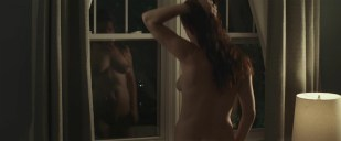 Juliette Lewis nude full frontal reflection in the window - Kelly & Cal (2014) hd720p