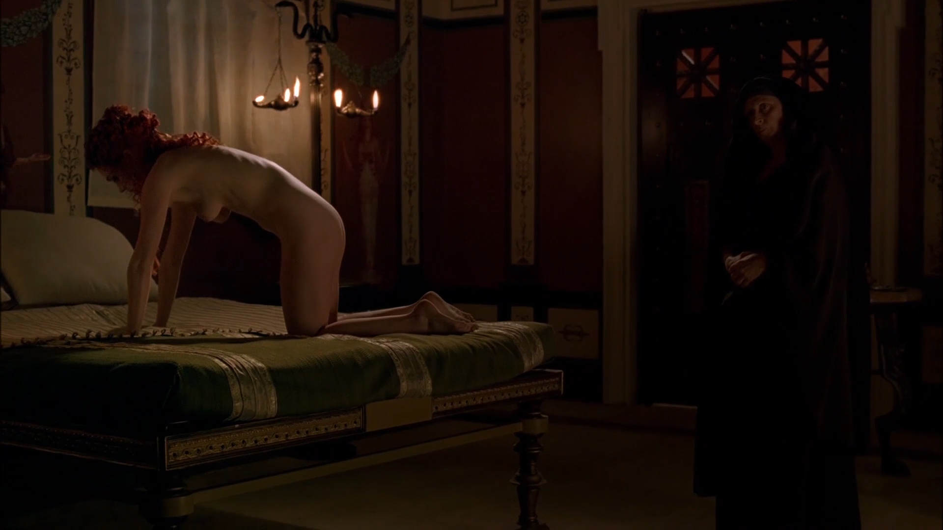 Kerry Condon Nude Full Frontal Some Sex And Lesbian - Rome -9150
