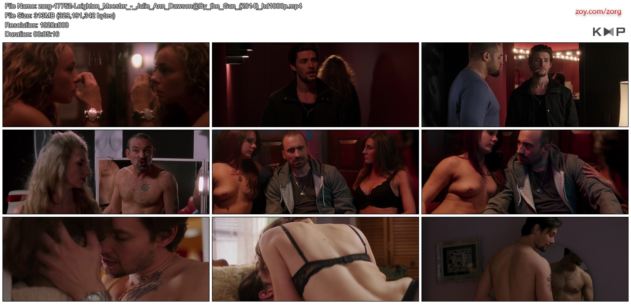 Leighton Meester hot sex and Julie Ann Dawson nude topless - By the Gun (2014) hd1080p (12)