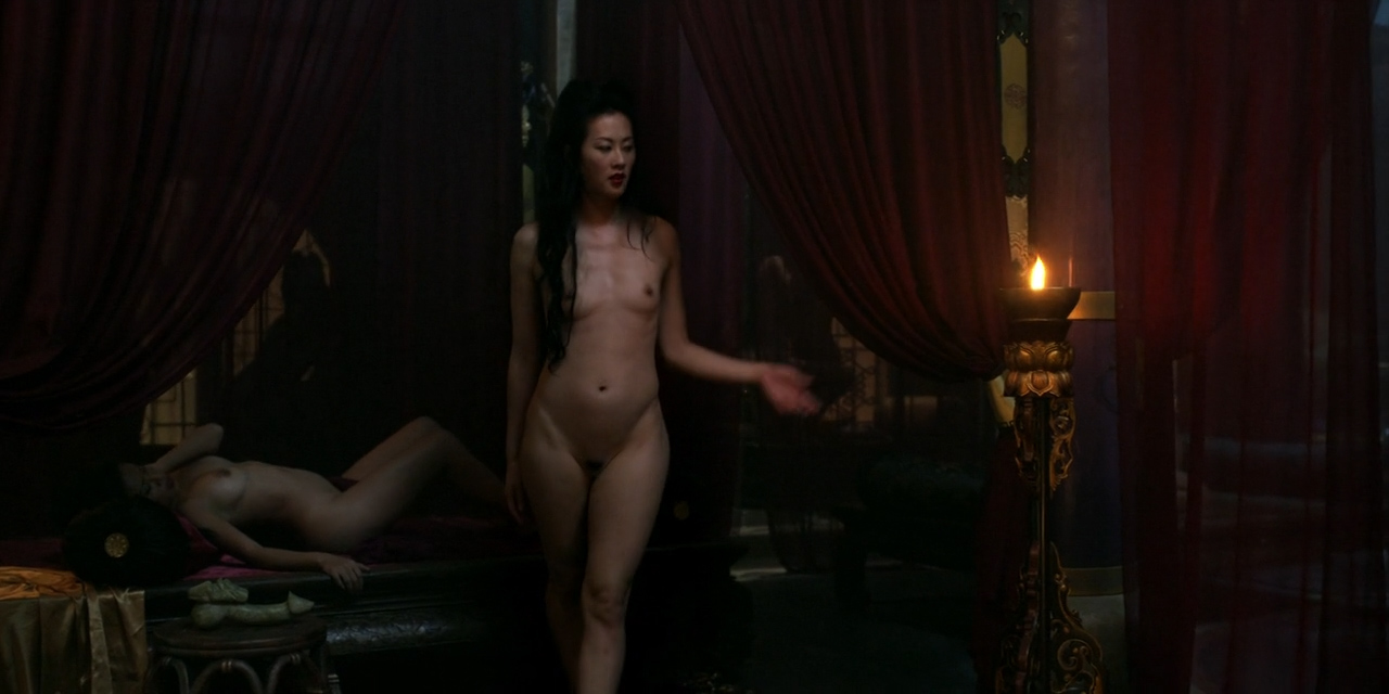 Olivia Cheng nude full frontal bush and butt- Marco Polo (2014) s1e3 hd720p (4)