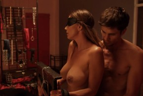 Charisma Carpenter nude topless BDSM and hot – Bound (2015) hd720-1080p BluRay