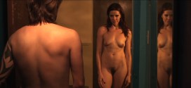 Elina Madison nude full frontal bush and Silvia Spross nude topless and butt - Someones Knocking At The Door (2009) 1080p (4)