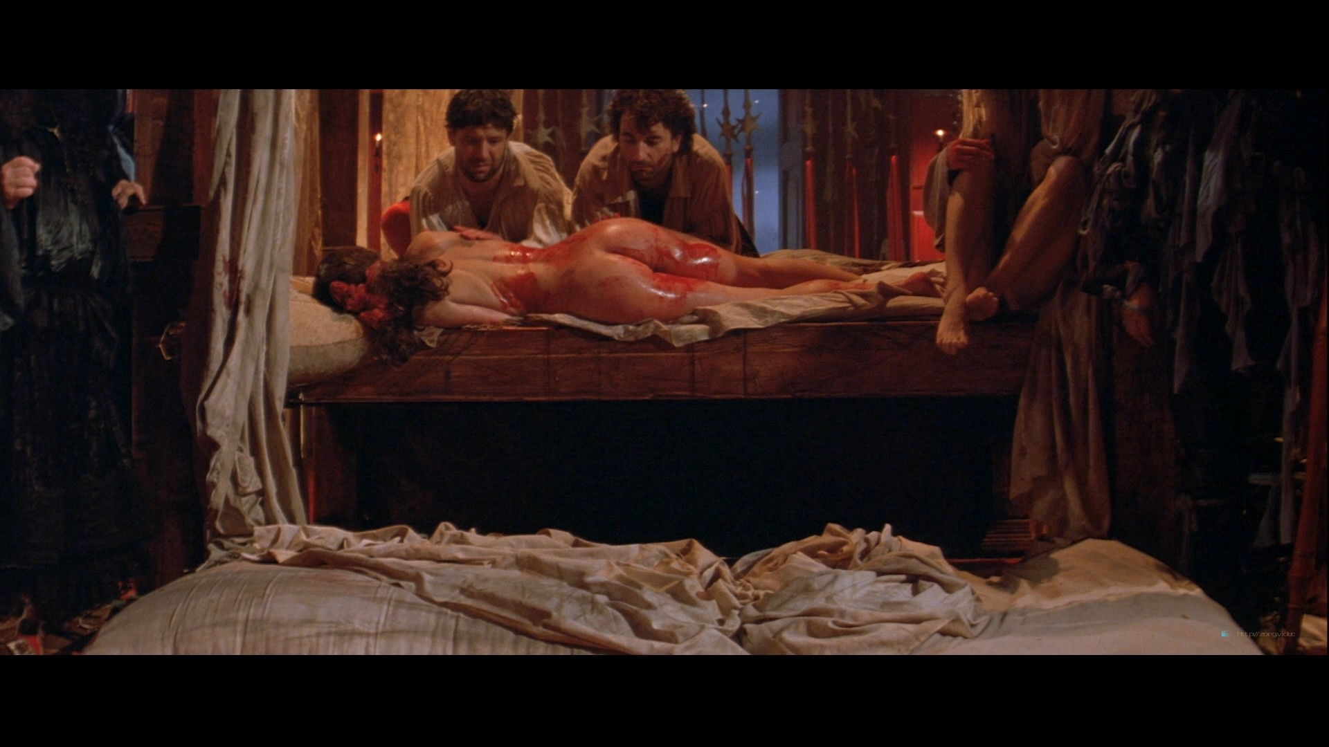 Julia Ormond nude full frontal bush and nude topless - The Baby of Macon HD 1080p BluRay(r) (3)
