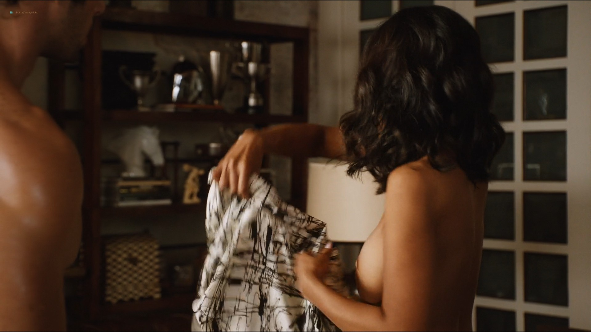 Sharon Leal nude and lot of sex others nude too - Addicted (2014) HD 1080p (8)