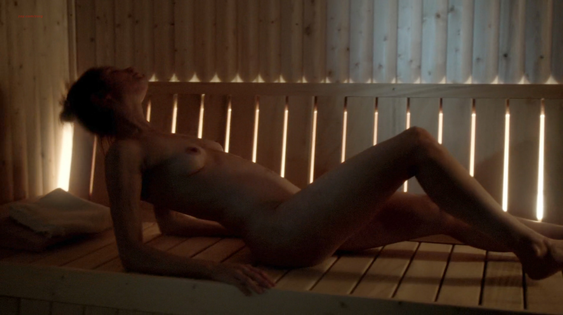 Sienna Guillory nude topless and full frontal - Fortitude (2015) s1e1 hd720-1080p