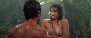 Tawny Kitaen nude topless and Zabou Breitman nude too - Gwendoline (FR-1984)