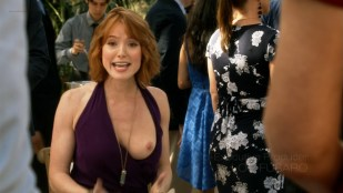 Alicia Witt nude topless showing her nude boob - House Of Lies s4e5 (2015) hd720p
