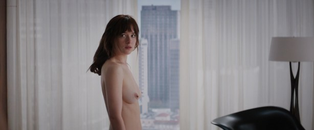 Dakota Johnson nude topless - Fifty Shades of Grey (2015) WEB-DL hd1080p uncut (1)