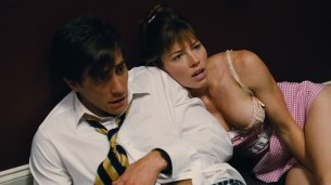 Jessica Biel hot leggy and some great cleavage - Accidental Love (2015) hd1080p (10)