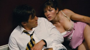 Jessica Biel hot leggy and some great cleavage - Accidental Love (2015) HD 1080p