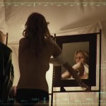 Ashley Hinshaw nude while changing- The Pyramid (2014) WEB-DL hd720p