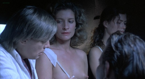 Assumpta Serna nude topless and sex in the car - Wild Orchid (1989) hd1080p
