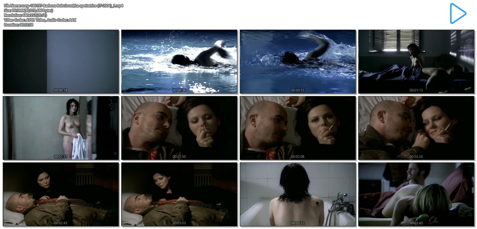 Barbora Bobulova nude full frontal - La spettatrice (IT-2004) (11)