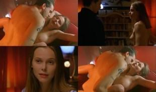 Barbora Bobulova nude topless and some sex - Ecco Fatto (IT-1998)
