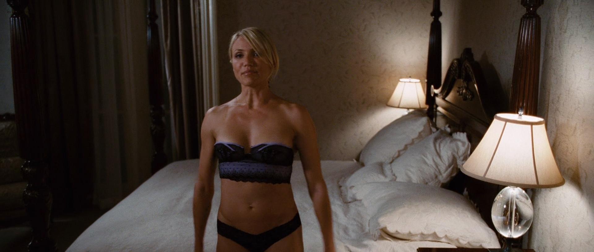 Cameron Diaz hot Krysten Ritter lingerie and Lake Bell hot in undies - What Happens In Vegas (2008) hd1080p (15)