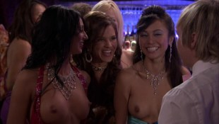 Christine Nguyen nude topless and Angelina Bulygina nude - Party Down (2009) s1e5