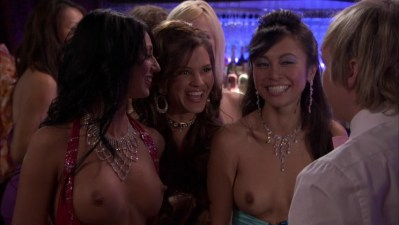 Christine Nguyen nude topless and Angelina Bulygina nude - Party Down (2009) s1e5 (2)