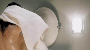 Cindy Sampson nude side boob in shower Meghan Heffern hot - The Shrine (2010) hd1080p