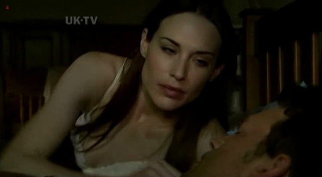 Claire Forlani nude topless in the shower - The Diplomat (2009) (11)
