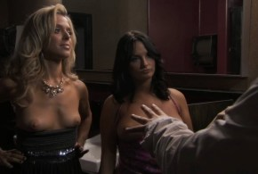 Jennifer Wenger nude topless and Anastasia Ganias nude too - Party Down (2009) s2e8 (2)