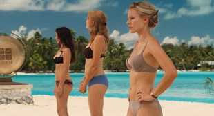Kristen Bell hot Malin Akerman hot in bra and panties and others in bikinis - Couples Retreat (2009) hd1080p