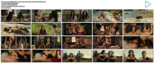Penélope Cruz hot see through and Salma Hayek hot cleavage - Bandidas (2006) hd1080p (27)
