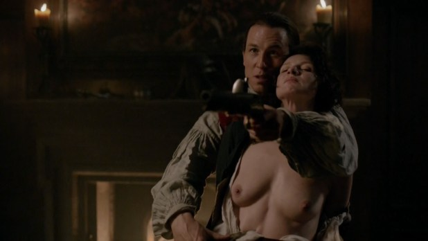 Caitriona Balfe nude topless and sex - Outlander (2015) s01e09 hd1080p (4)