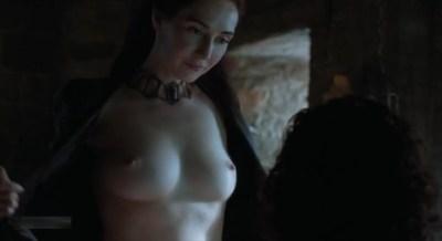 Carice van Houten nude topless and Emilia Clarke hot not nude - Game of Thrones (2015) s5e4 hd720/1080p (21)