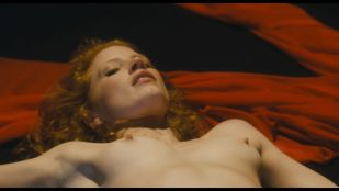 Jessica Chastain nude topless and very hot - Salome (2013) HD 1080p Web