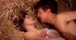 Laura Antonelli nude topless and nude butt and bush - Mio Dio Come Sono Caduta In Basso (IT-1974) (1)