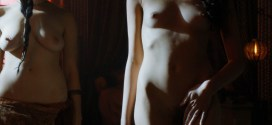 Natalie Dormer hot nipple & others nude full frontal - Game Of Thrones (2015) s5e3 hd720p (12)