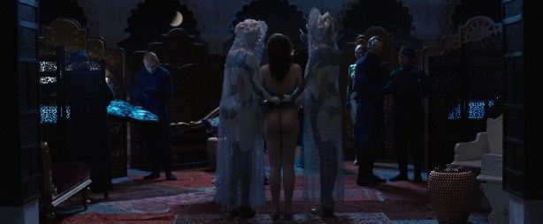 Tuppence Middleton nude butt and Vanessa Kirby not nude hot in lingerie - Jupiter Ascending (2015) hd1080p (11)