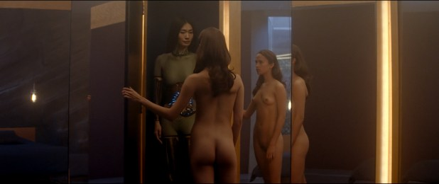 Alicia Vikander nude full frontal Sonoya Mizuno nude bush and others nude - Ex Machina (2015) hd1080p (14)