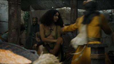 Carice van Houten nude topless and Emilia Clarke hot not nude - Game of Thrones (2015) s5e4 hd720/1080p (8)