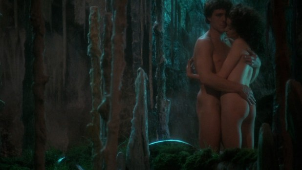 Cherie Lunghi nude topless Helen Mirren nude and Katrine Boorman nude sex - Excalibur (1981) hd1080p (3)