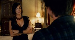 Jennifer Aniston hot and sexy Catherine Bell hot huge cleavage - Bruce Almighty (2003) hd1080p (1)