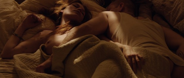 Lykke May Andersen nude topless - En Chance Til (DK-2014) BluRay hd1080p (1)