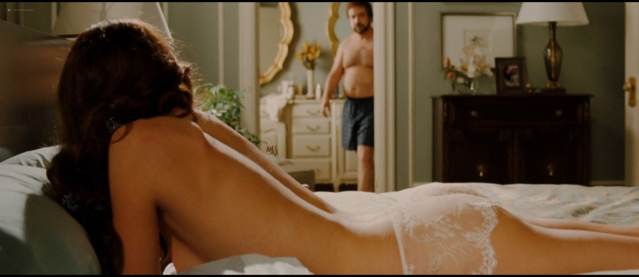 Rosamund Pike hot butt and see-through in lingerie - Barney's Version (2010) HD 1080p (5)