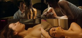 Rosamund Pike nude side boob sex and Ayelet Zurer nude topless and sex - Fugitive Pieces (2007)