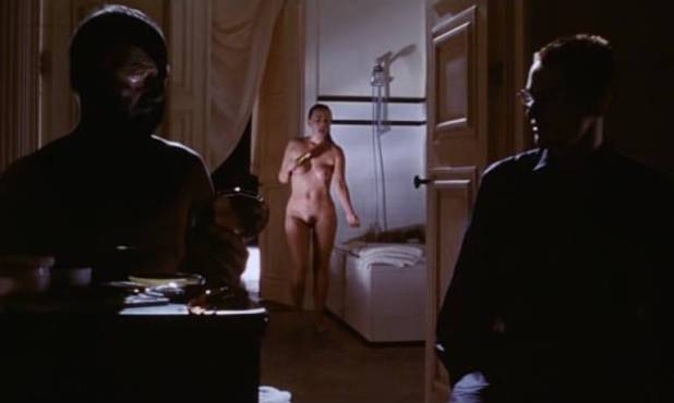 Toni Collette nude bush labia Polly Walker nude full frontal hand job others nude too - 8½ Women (1999) (15)
