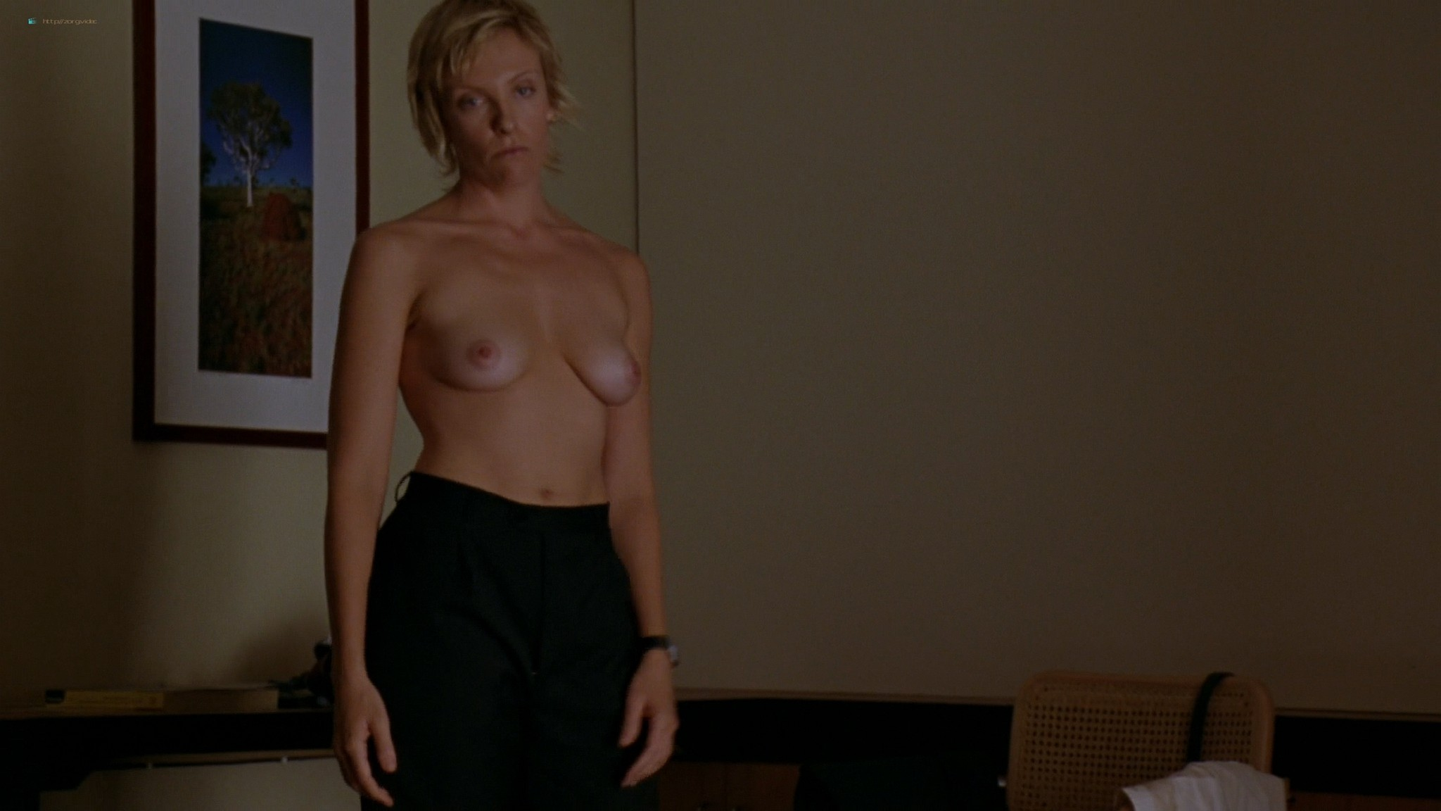 Toni Collette nude topless sex and wet in bra - Japanese Story (AU-2003) HD 1080p Web (7)
