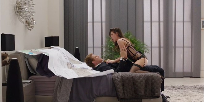 Alison Brie hot in lingerie and uber sexy - Get Hard (2015) Web-DL hd1080p (5)
