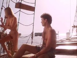 Bo Derek nude bush topless sex and skinny dipping - Woman of Desire (1994) (8)