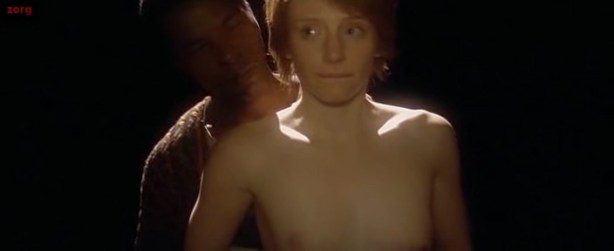 Bryce Dallas Howard nude bush topless and sex - Manderlay (2005) (9)