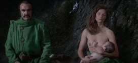 Charlotte Rampling nude topless Sara Kestelman nude and Sally Anne Newton nude too - Zardoz (UK-1974) BluRay hd1080p (12)