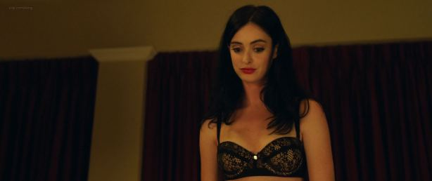 Krysten Ritter hot and sexy in black lingerie - Search Party (2014) BluRay HD 1080p (14)