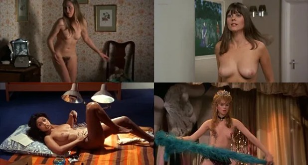 Linda Hayden nude full frontal Ava Cadell nude and others nude - Confessions of a Window Cleaner (UK-1974)