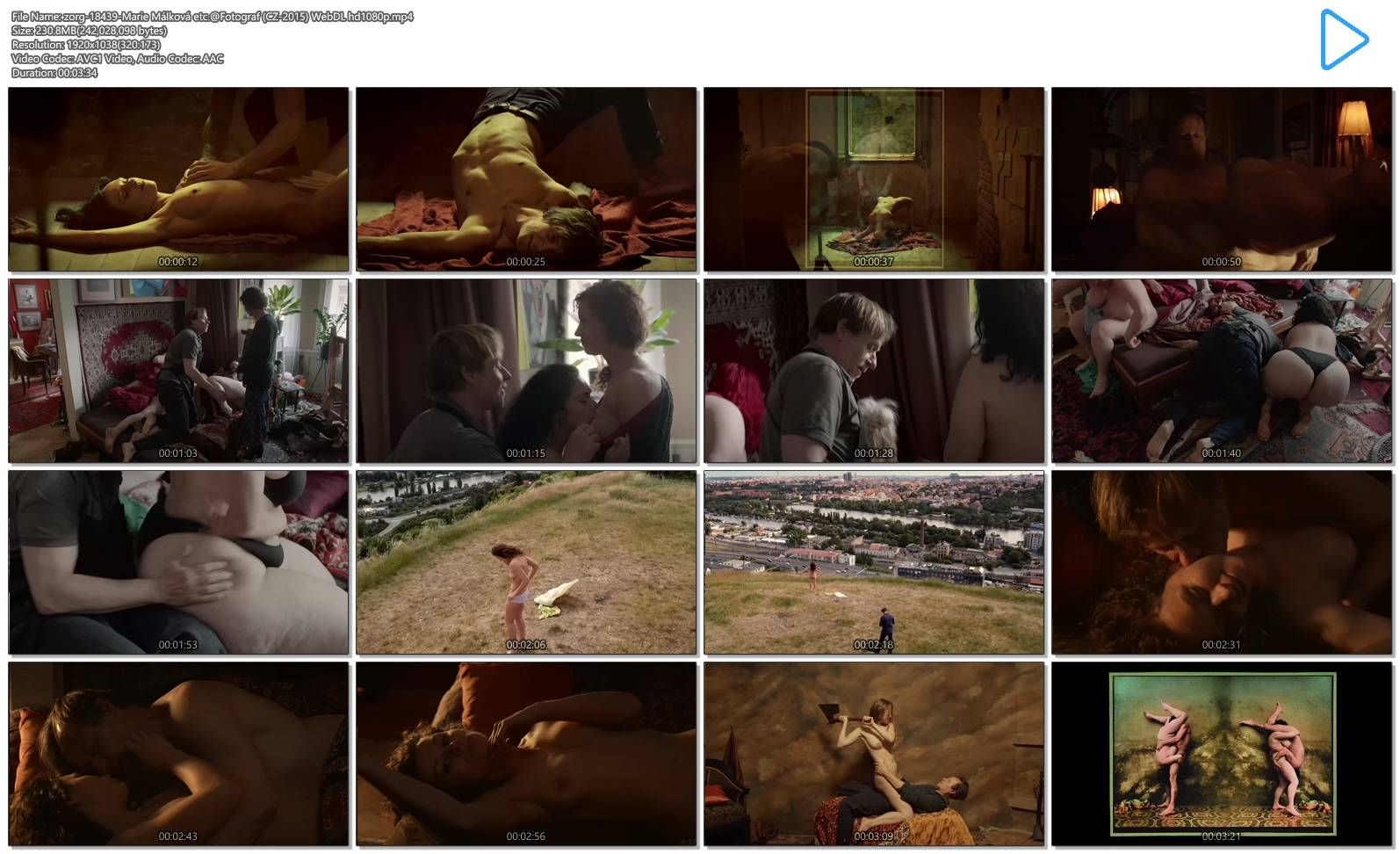 Marie Málková nude full frontal sex and others nude - Fotograf (CZ-2015) Web-DL hd1080p (12)