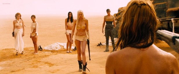 Megan Gale nude butt Rosie, Riley, Abbey, Zoe, Courtney all hot not nude - Mad Max Fury Road (2015) hd1080p Web-DL 4