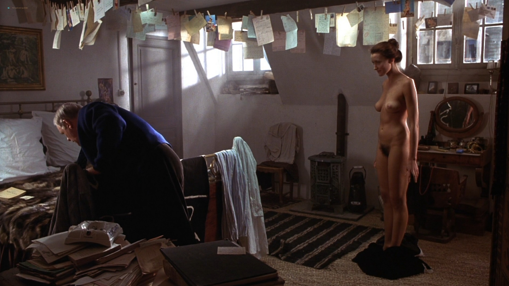 Natascha McElhone nude full frontal and topless - Surviving Picasso (1996) HD 1080p Web (6)